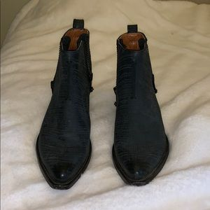 Frye Side Zip Ankle Boots